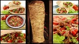 doner kebab collage