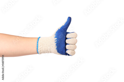 Thumbs up ok sign