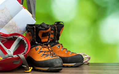 Hiking concept