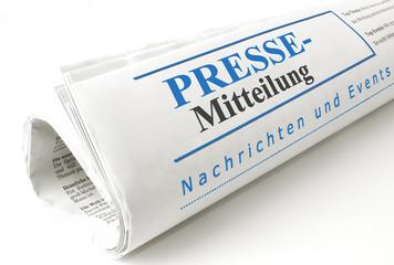 Pressemitteilung Header Zeitung