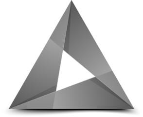 Folded triangle
