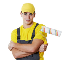 house painter portrait