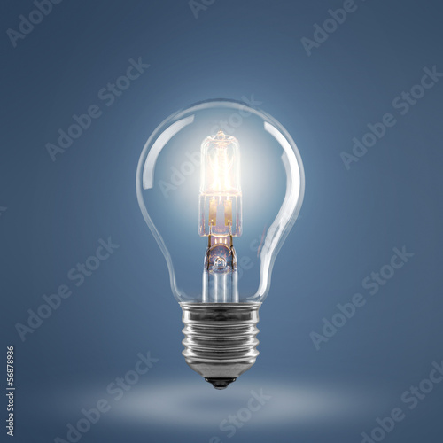 canvas print picture Light Bulb