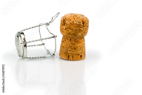 champagne corks and clasp