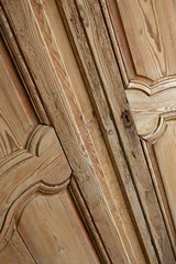 Meuble, artisanal, bois, pin, armoire, maison, ébénisterie