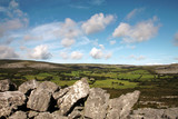 The Burren quite landscape, Ireland