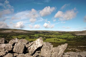 The Burren quite landscape, Ireland