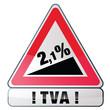 TVA de 2,1%