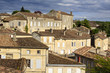 Roofs of Saint-Emilion village, France