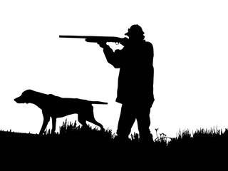 Avcı ve köpek