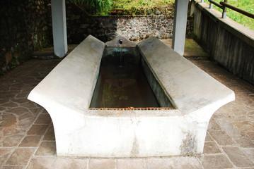 Water Trough in Ligosullo