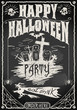 Vintage Blackboard for Halloween Party - 56885588
