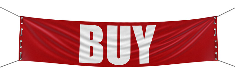 Buy Banner (clipping path included)