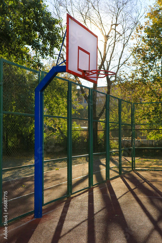 sports basketball ground
