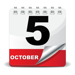 5 OCTOBER ICON