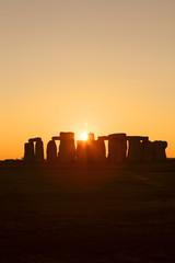 Stonehenge at sunset, Salisbury