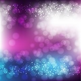 Pink and Purple Background With Bokeh And Blur.