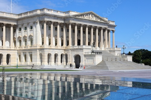 Washington, DC - the US Capitol (Congress building)
