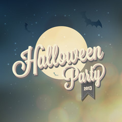 Happy Halloween Typography