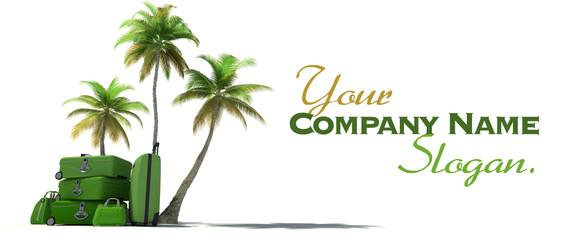Green tropical trip