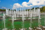 Fountain in Tsaritsino park - Russian Moscow