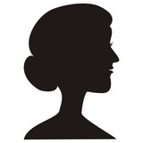 lady - silhouette