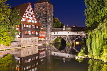 Nuremberg Germany at Hangman's Bridge