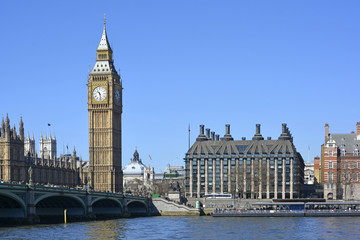 Big Ben (Elizabeth Tower) and Portcullis House