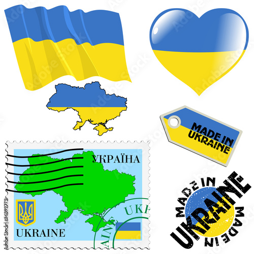 national colours of Ukraine