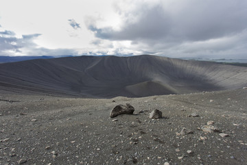 Cratere del vulcano Hverfjall
