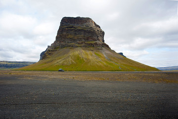 Montagna di magma in Islanda