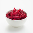 Fresh grated beetroot salad