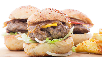 Types of Mini Burgers