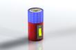 Batterie Solar - Kippschalter