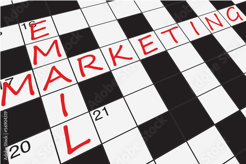 """E-MAIL MARKETING"" CROSSWORD (planning strategy web customer)"