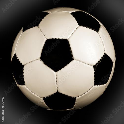 Fußball sepia