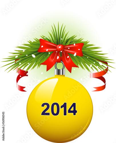 Christmas ball 2014