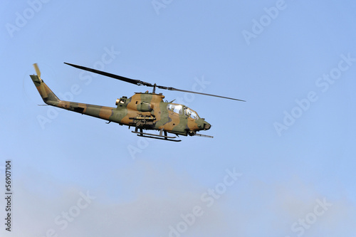 Aluminium Helicopter Attack Helicopter