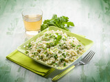 risotto with arugula