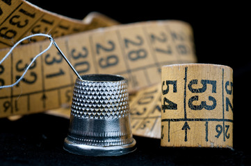 Items used by a tailor