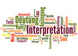 Interpretation (Hermeneutik, Verstehen, Sinn, Bedeutung)