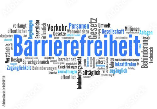 Barrierefreiheit (barrierefrei, Wohnung, Internet)