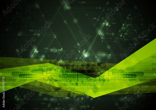 Abstract hi-tech vector illustration