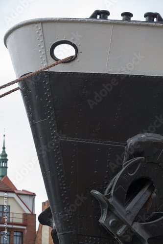 Soldek boat in the old port in gdansk © piccaya