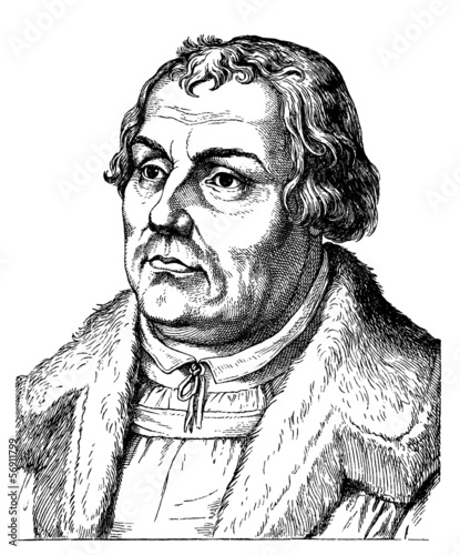 Martin Luther portrait - 16th century