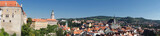 aerial view of  Cesky Krumlov,Prague, Czech