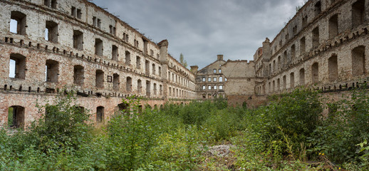 Old industrial building in Gdansk