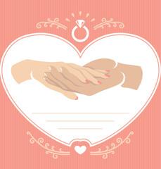 Proposal hand 2