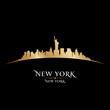 Fototapeten,new york city,stadt,skyline,silhouette
