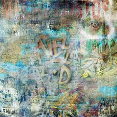 Fond mur graffiti